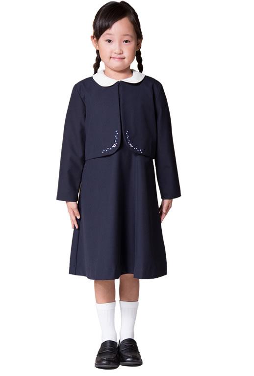 7f4593a7530ff  女の子のお受験スタイル お子様紺色ワンピースを選ぶ際の注意点とおすすめ3選!